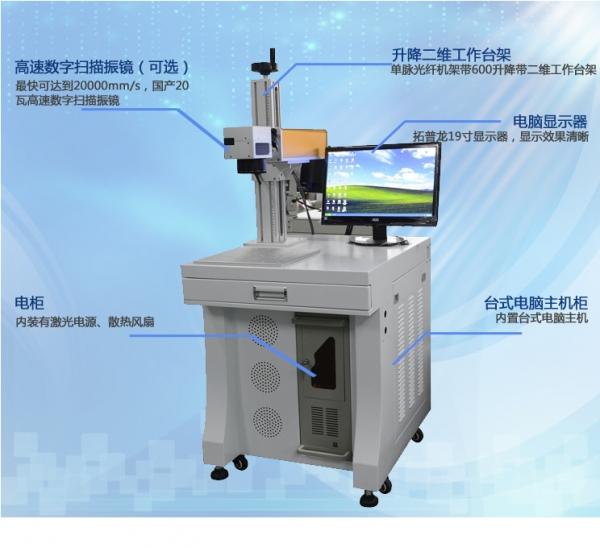 3D皮秒激光打标机