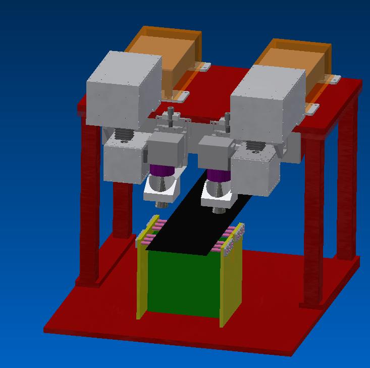 双头激光蓝宝石切割机(图1)